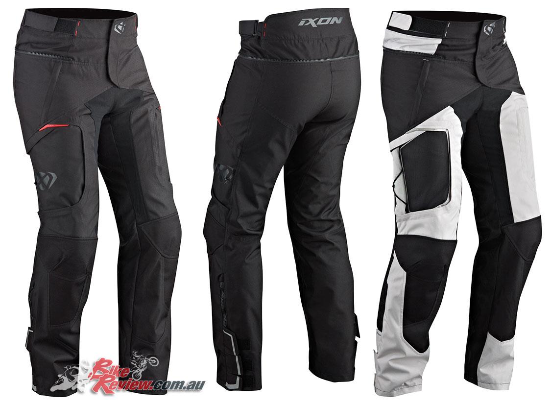 Ixon Cross Air 2.0 Pant in Black and Black/Grey