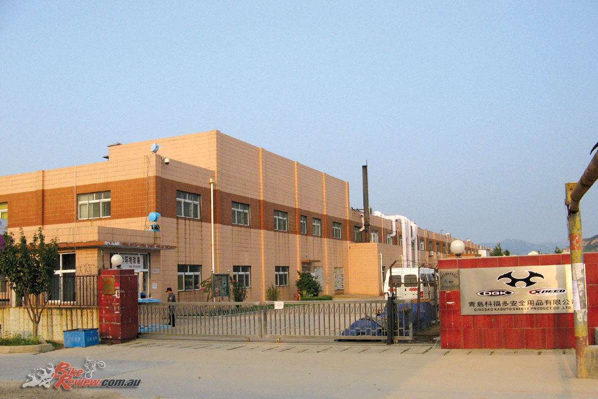 The Kabuto Qingdao factory represents an enormous investment by the brand