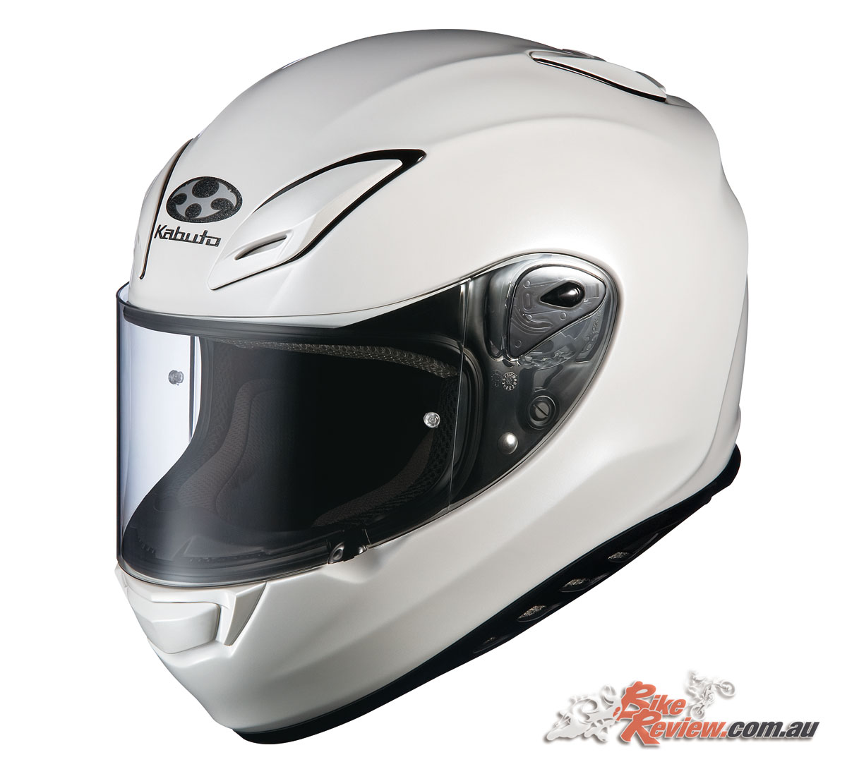 The Aeroblade-3 proved a huge success for Kabuto, while their helmets were a popular racers choice, offering a wide range of safety certification, allowing them to be used almost anywhere