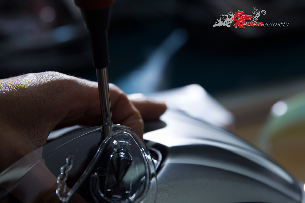 Kabuto are also proud of having a highly trustworthy workforce, which allows helmets to be assembled by hand to the highest standards