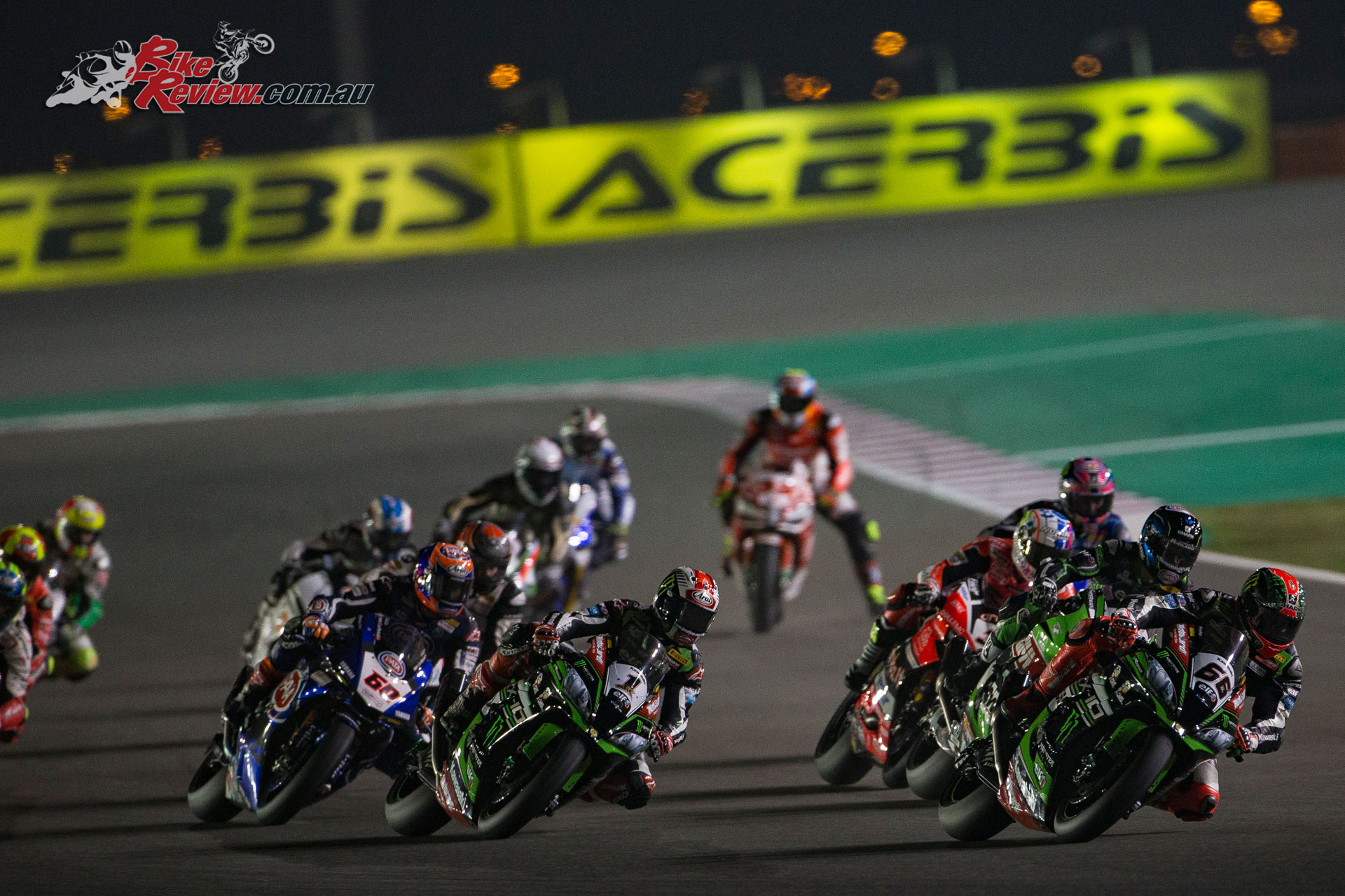 Sykes crashed out at Qatar, ending his hopes of second overall