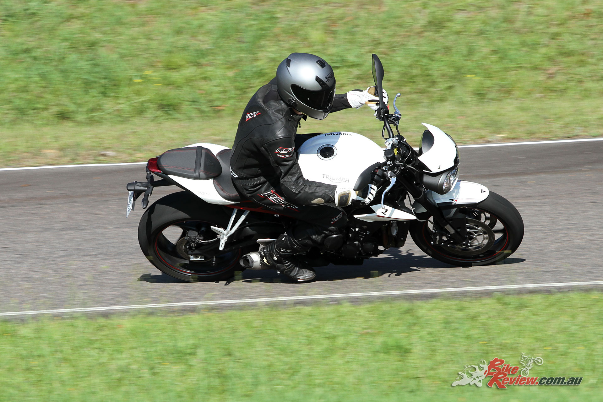 There's little that hasn't been significantly upgraded over the outgoing Street Triple R.