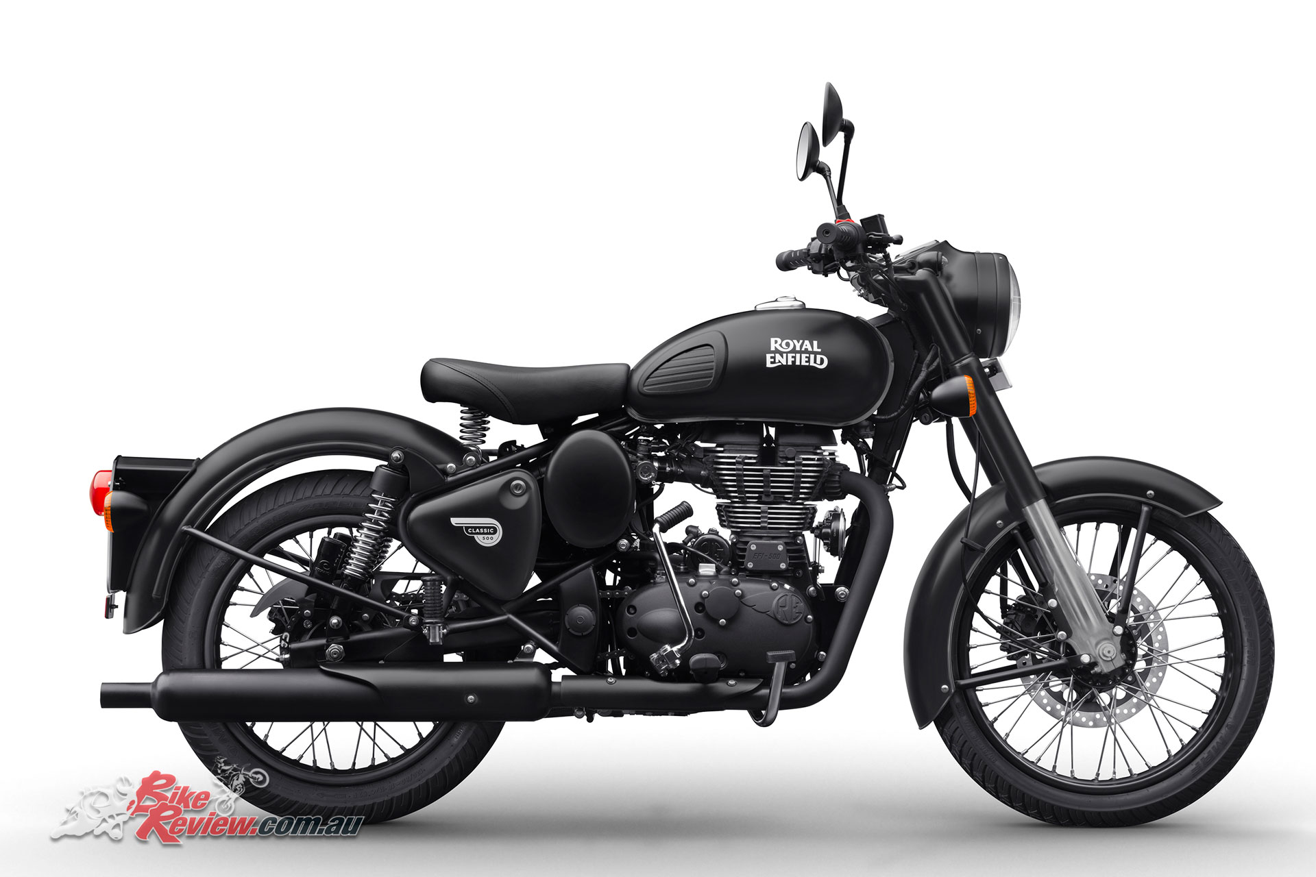 2018 Royal Enfield Classic 500 in Stealth Black