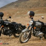 Royal Enfield Classic 500  in Stealth Black and Gunmetal Grey