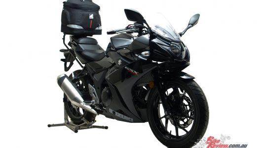 New Product: Ventura Luggage for Suzuki's GSX250R