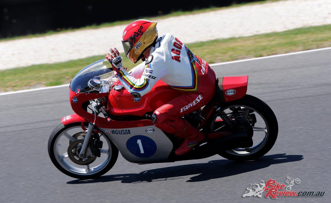 Giacomo Agostini - Image by Russell Colvin