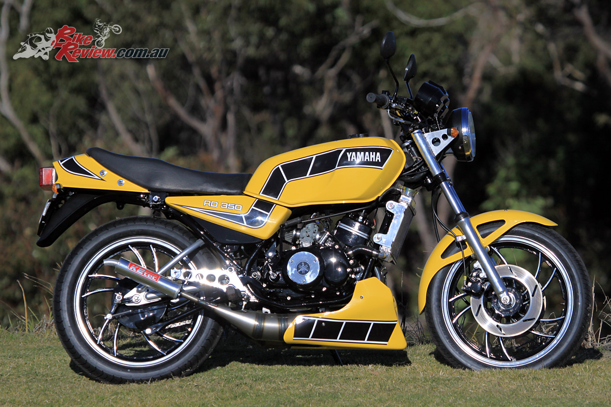 The Yamaha RD350LC in all its glory