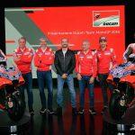 2018 Ducati Team presented in Borgo Panigale