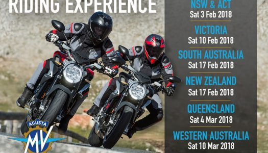 MV Agusta Riding Experience returns in 2018