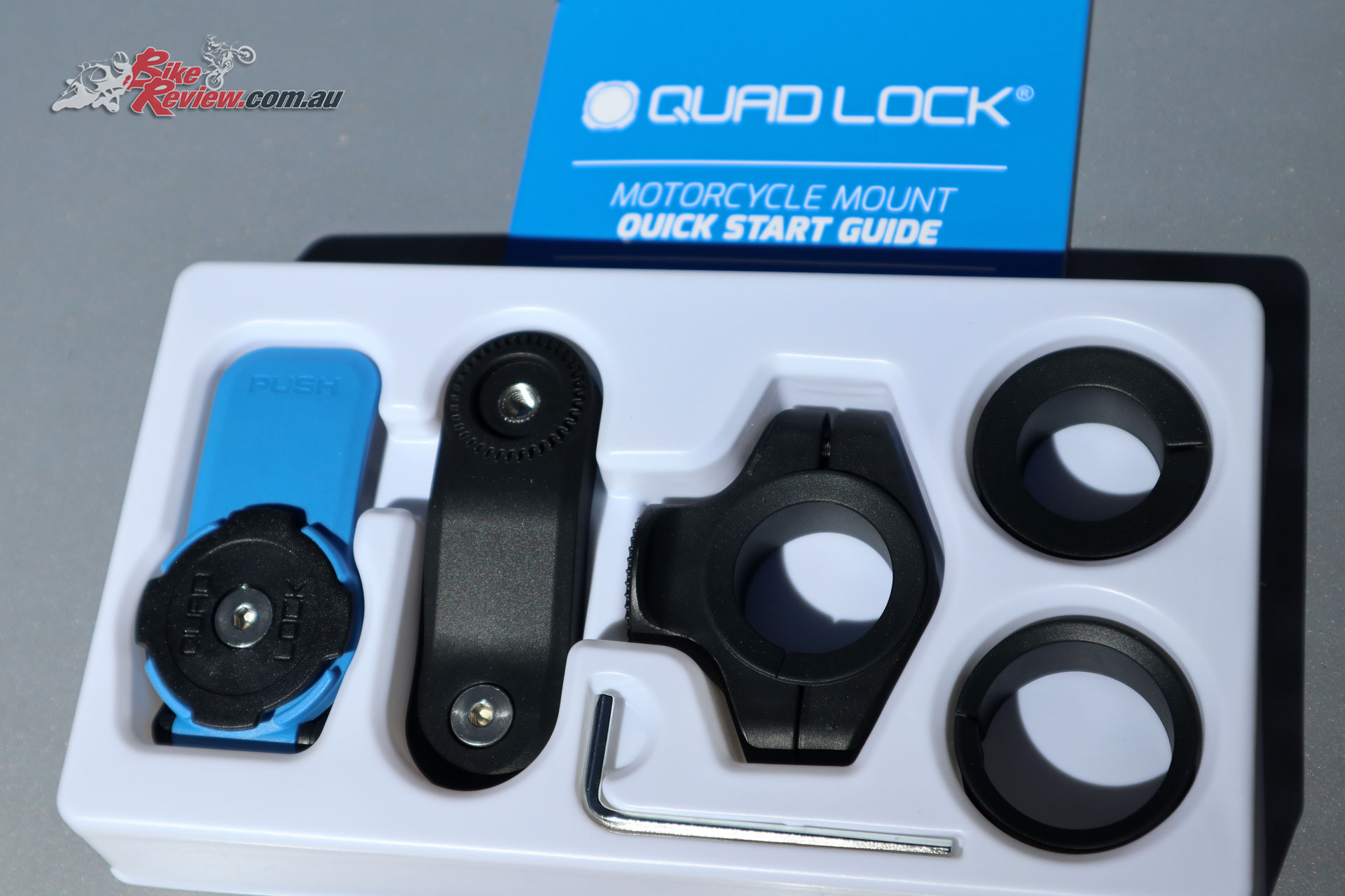 What's in the Quad Lock box