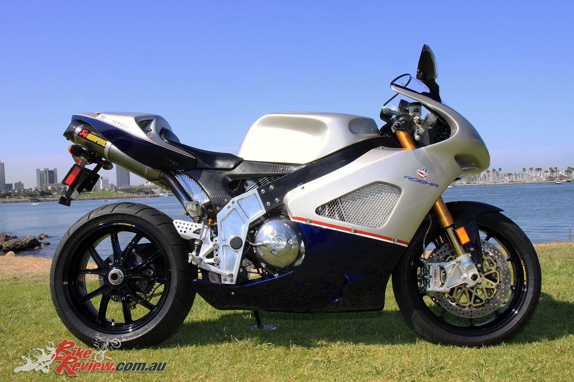 The all-American Roehr 1250sc Superbike