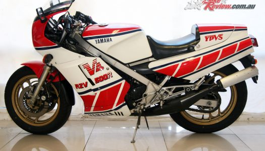 Used Ride: 1984 Yamaha RVZ500