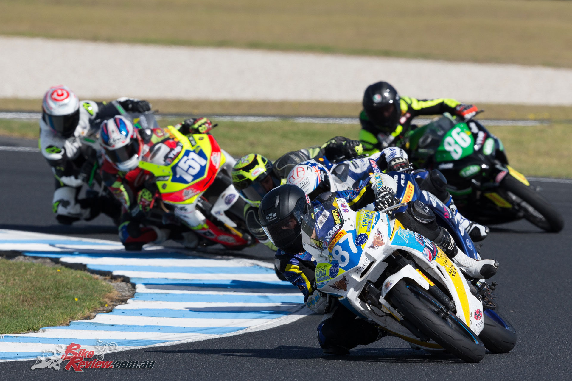 Supersport 300 Race 2 - Image by TBG Sport