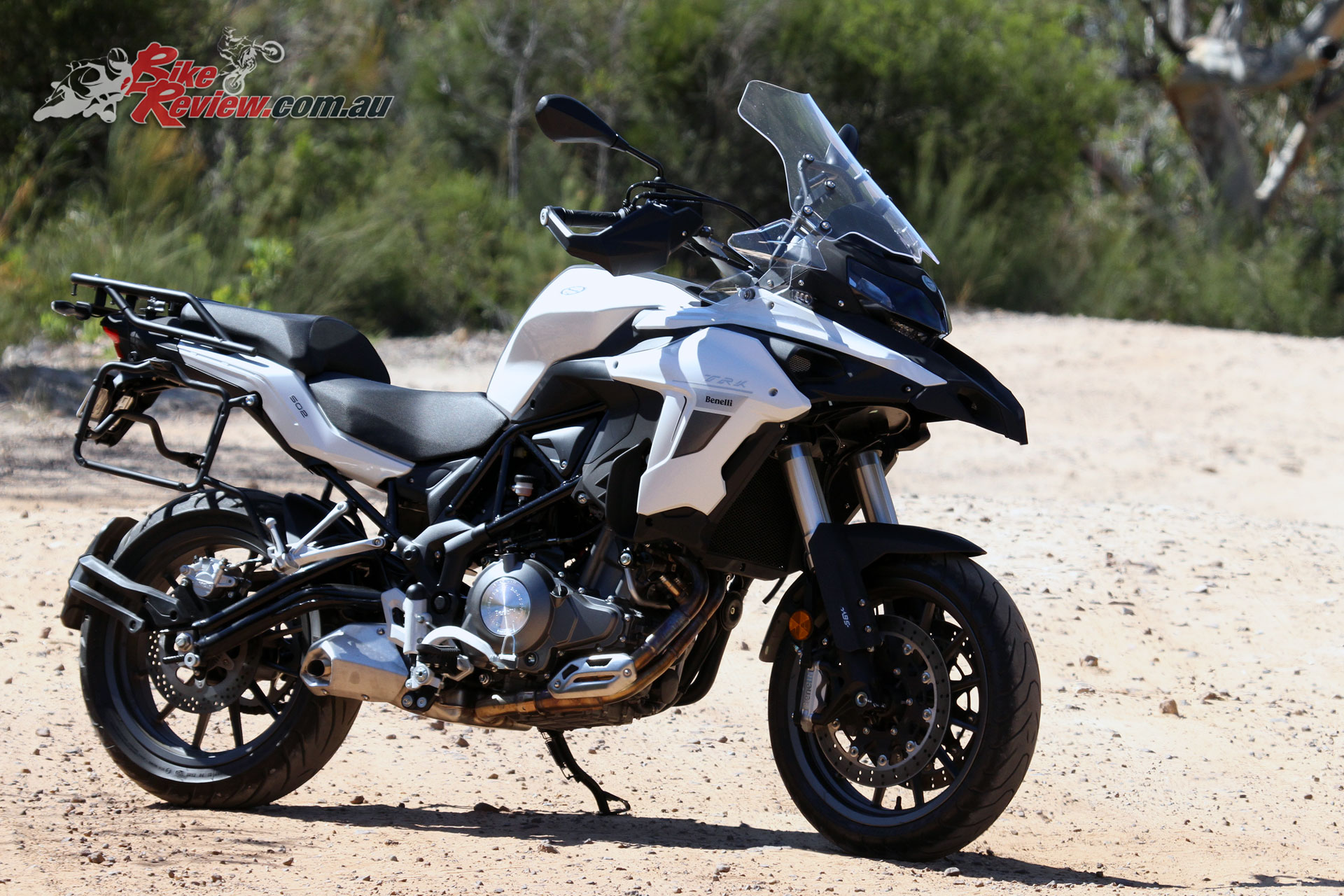 Benelli's TRK offers great styling for the price-point and looks like a much larger machine
