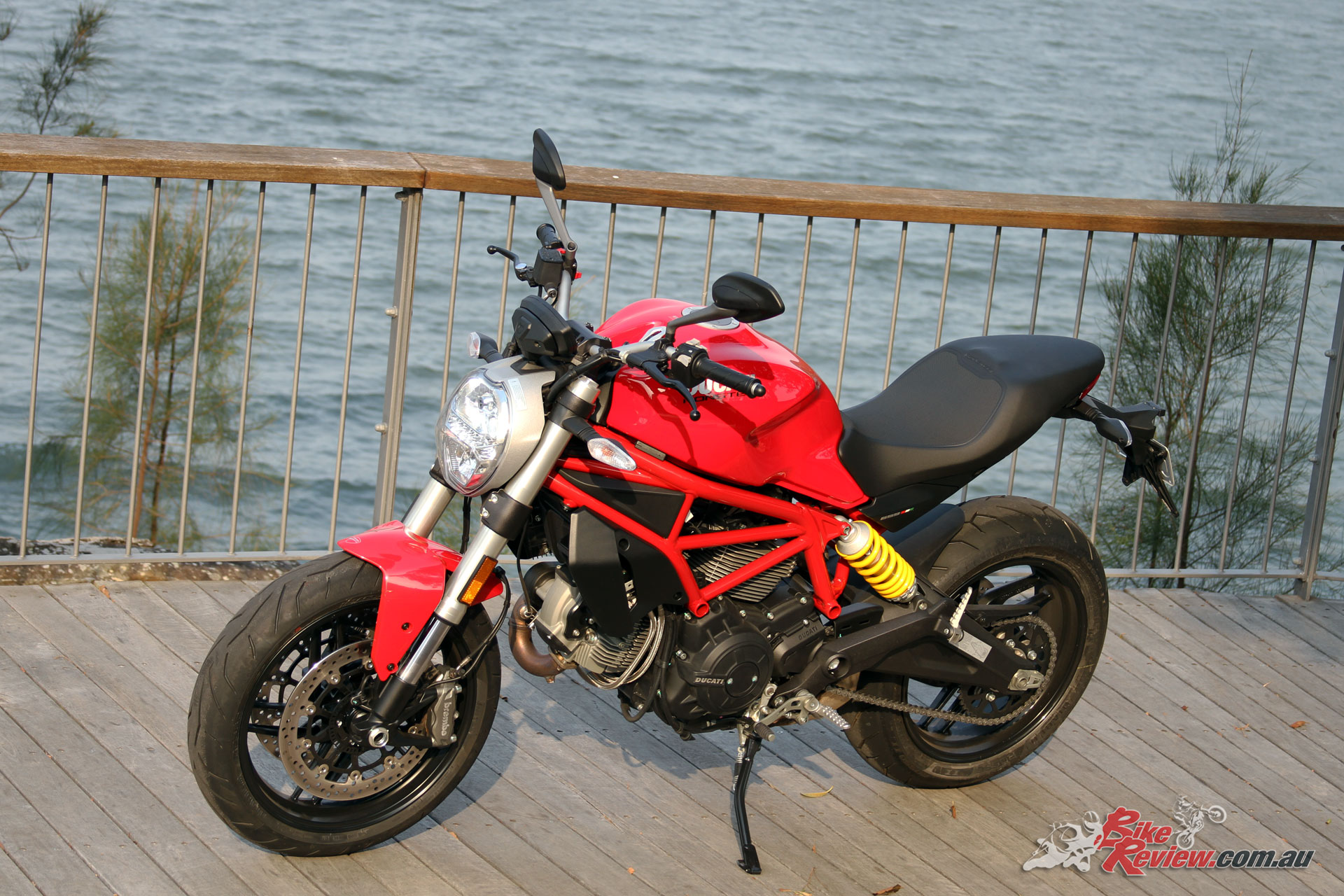 The Monster 659 is a real looker and stands out for exceptional build quality