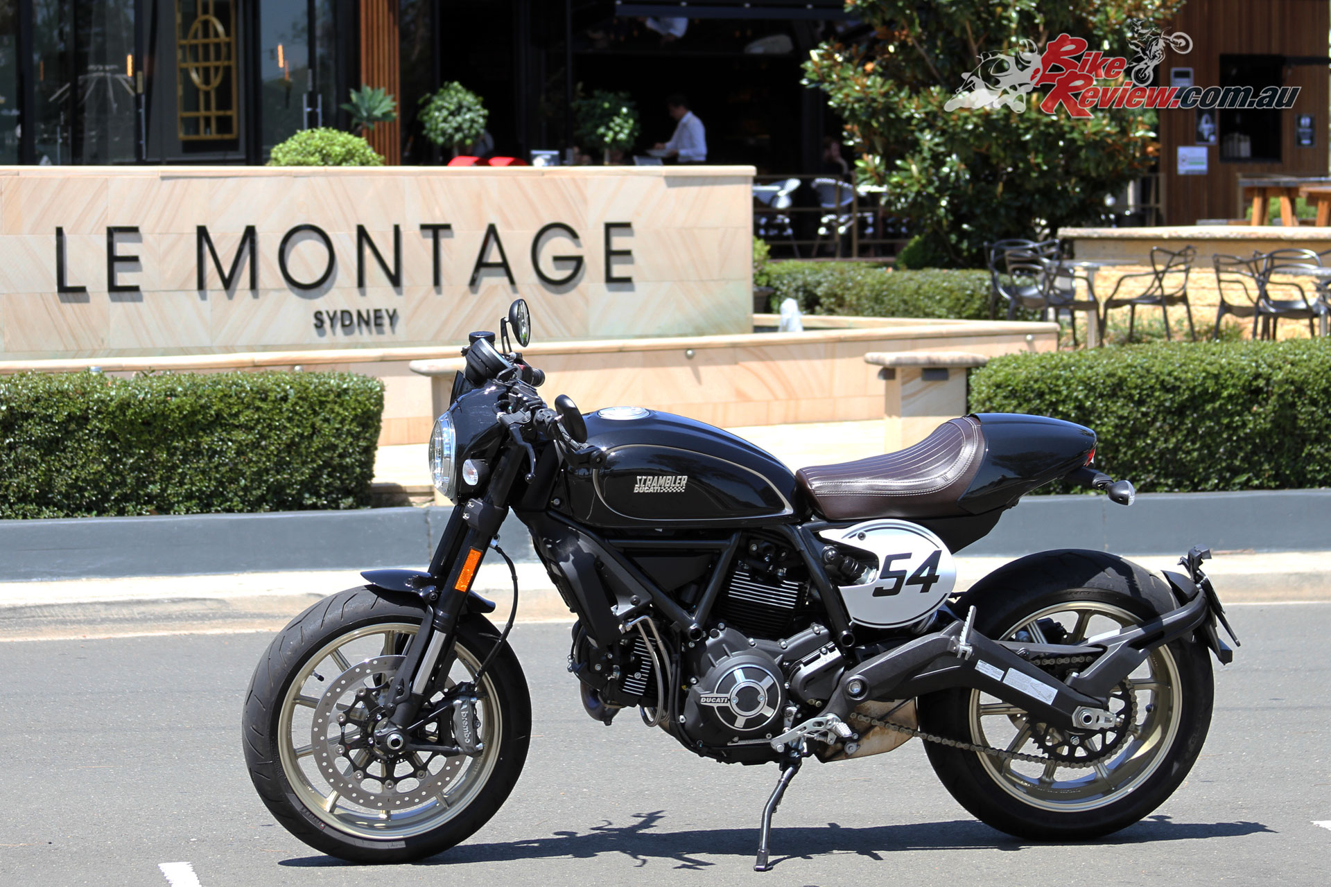 Review Ducati Scrambler Cafe Racer