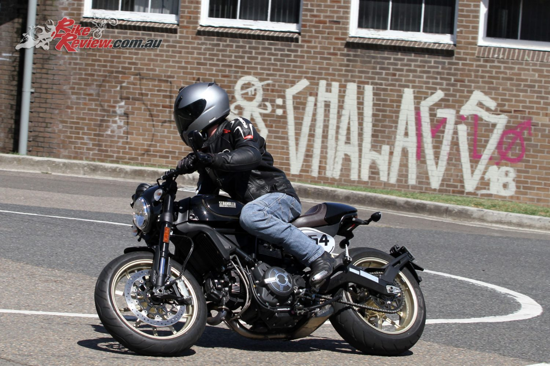 Ducati's 2018 Scrambler Cafe Racer