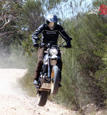 Ducati's 2018 Scrambler Desert Sled is the off-road orientated version