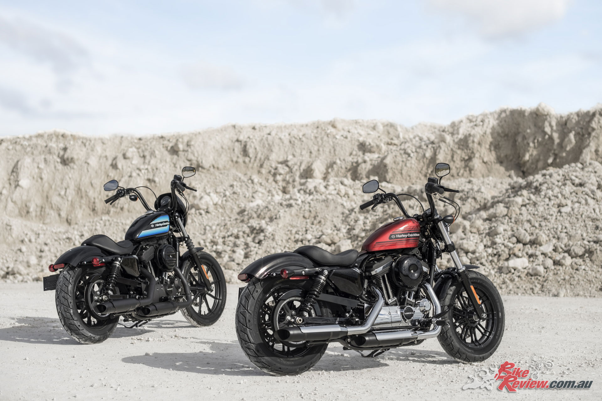 Harley-Davidson introduce the 2018 Iron 1200 and Forty-Eight Special