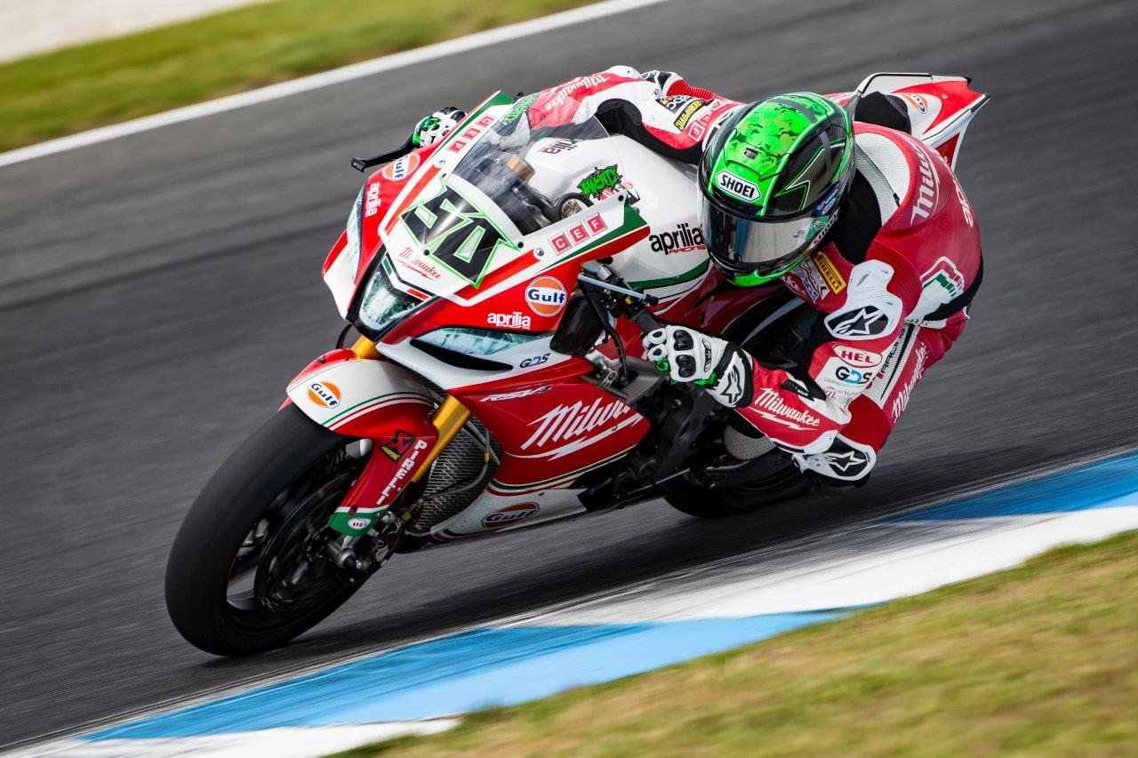 Eugene Laverty - Image by Graeme Brown