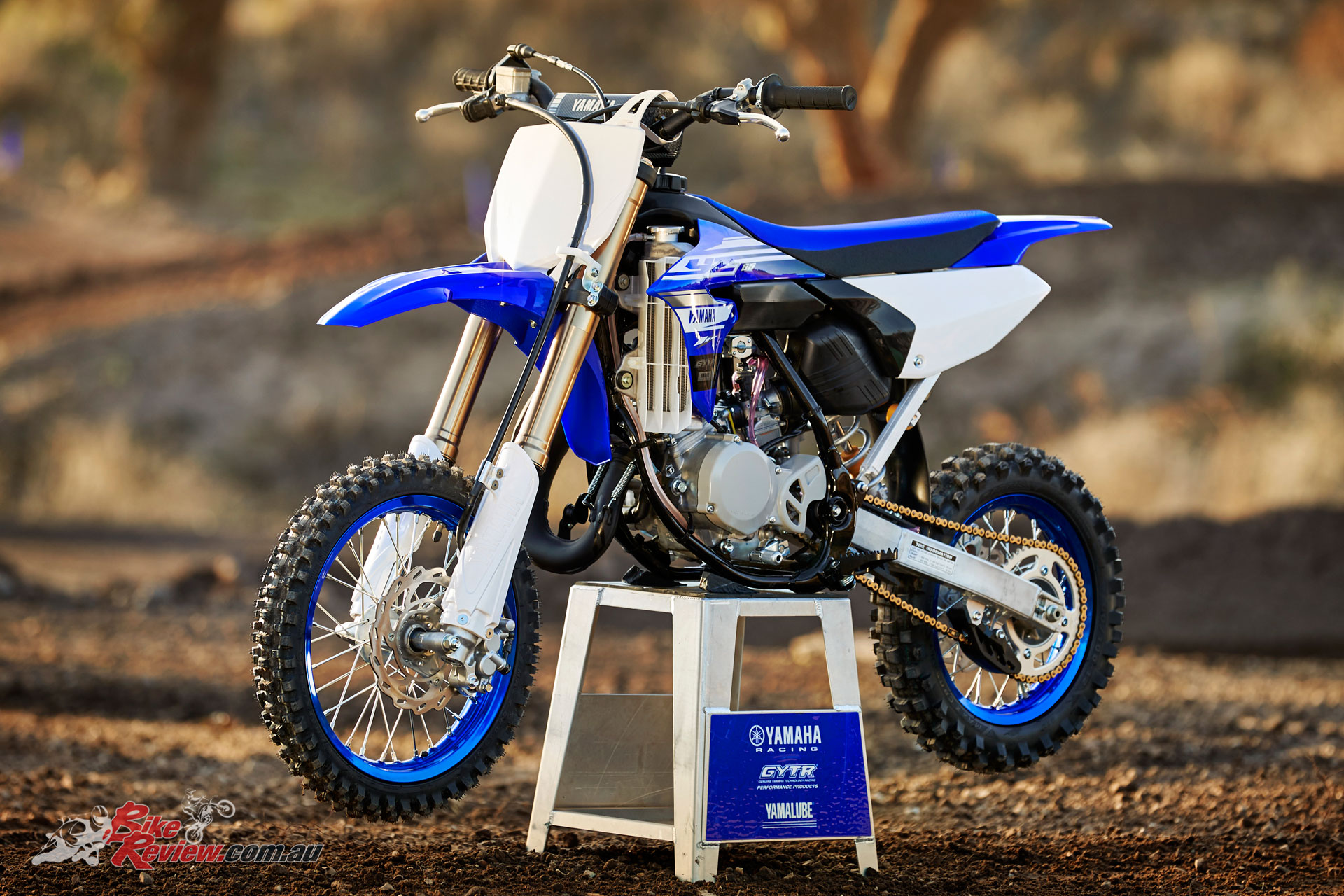 Yamaha's all new for 2018 YZ65 junior motocrosser