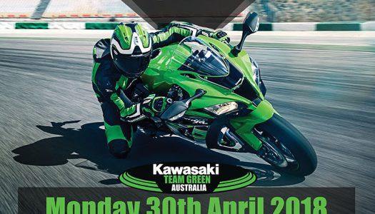 Kawasaki Team Green Australia track event at SMSP – 30th April 2018