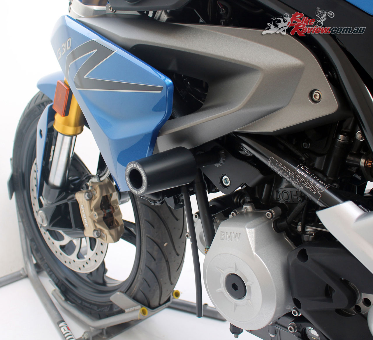 Promoto Oggy Knobbs for the BMW G 310 R