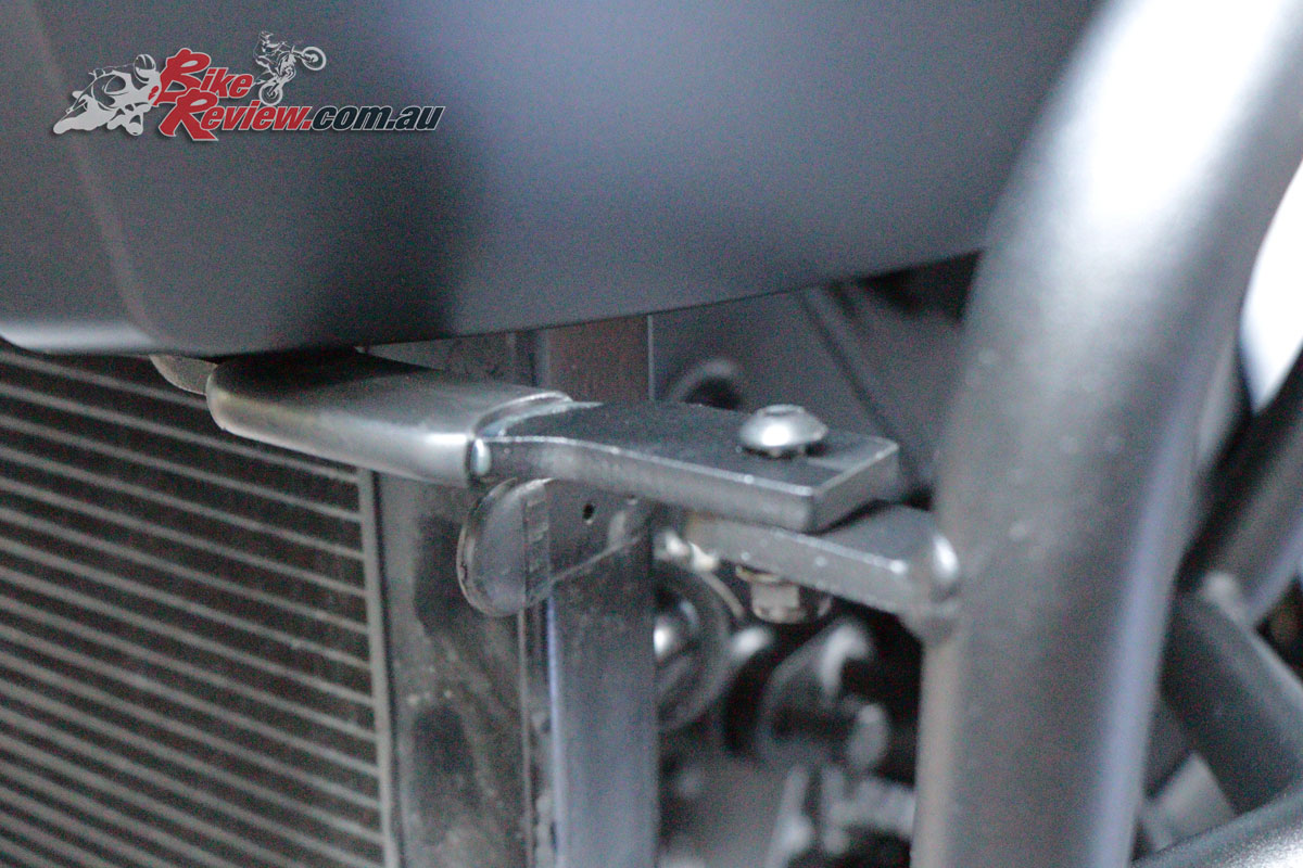 Also don't forget the radiator brackets!