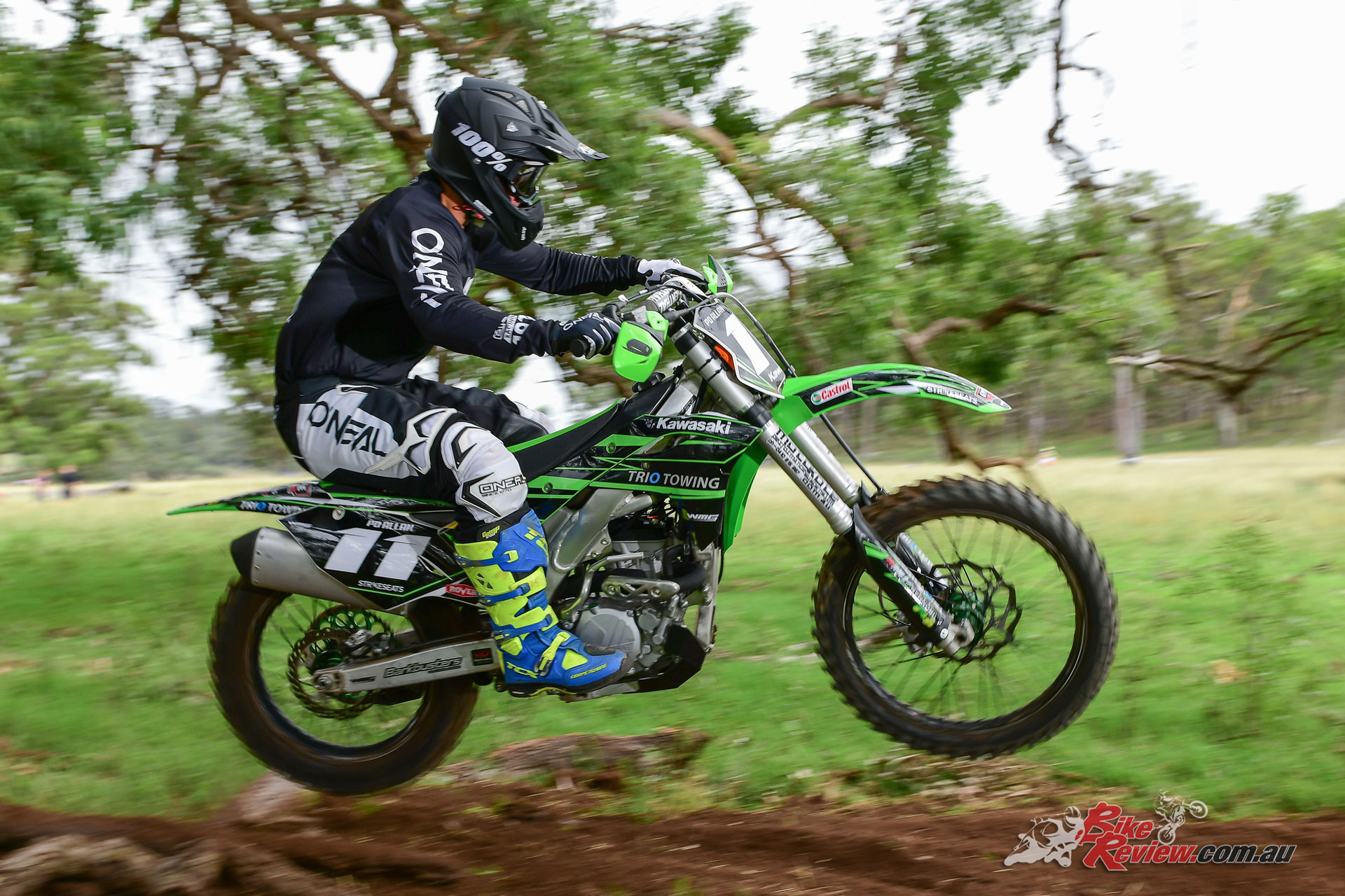 Peter Daniel 'PD' Allan - Kawasaki Castrol Racing Team