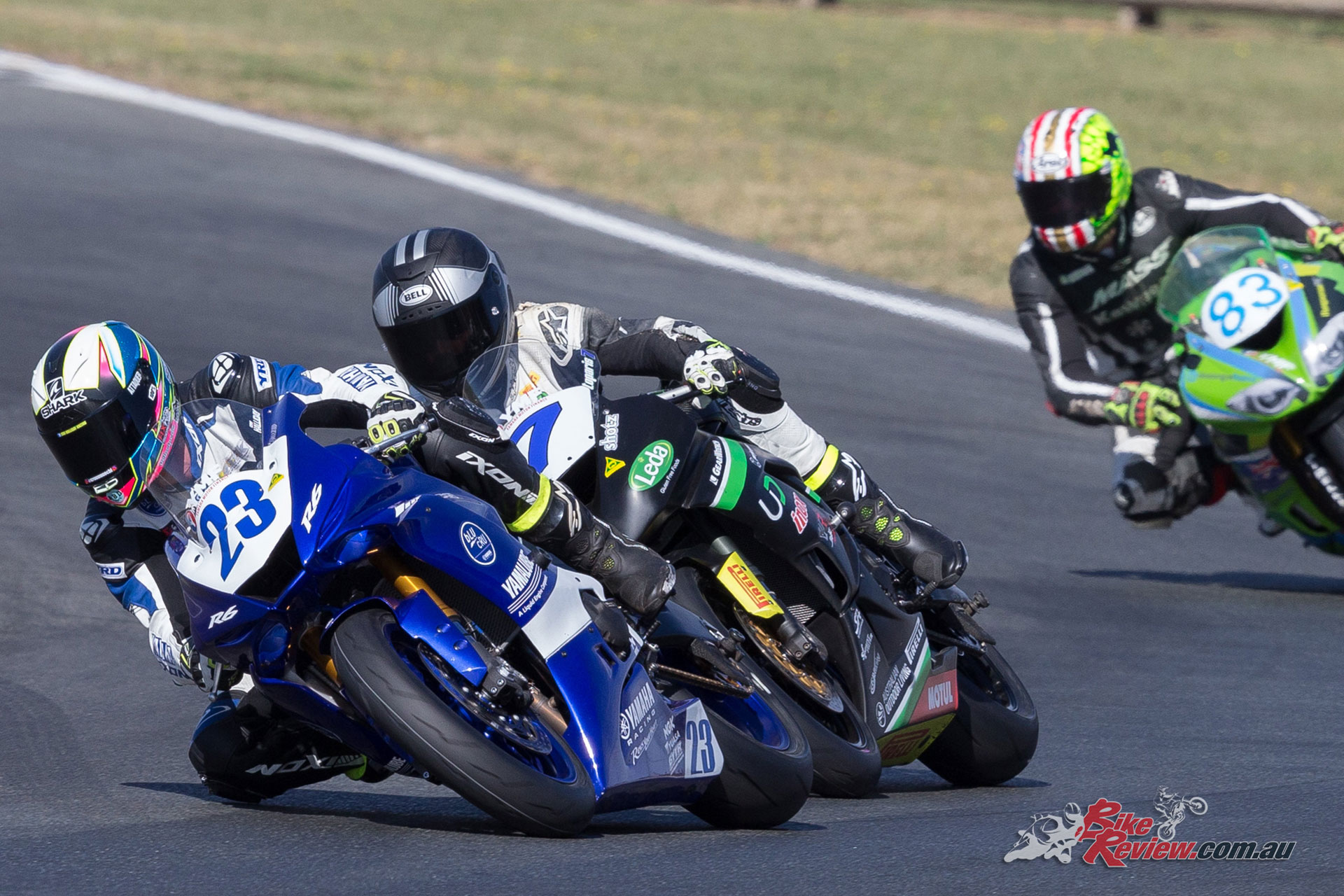 Cru Halliday proved dominant in the Supersport class - Image by TBG Sport
