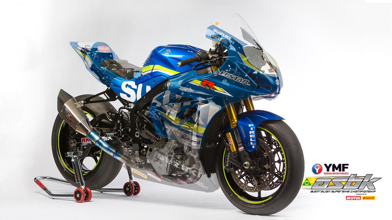 Team Suzuki Ecstar - Image by TBG Sport
