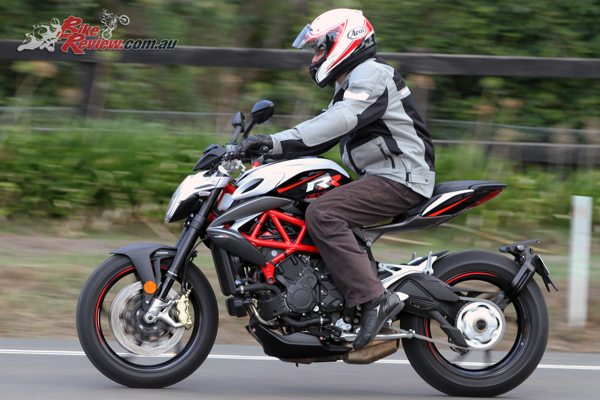 So if you're considering a MV Agusta Brutale, definitely test ride the RR version