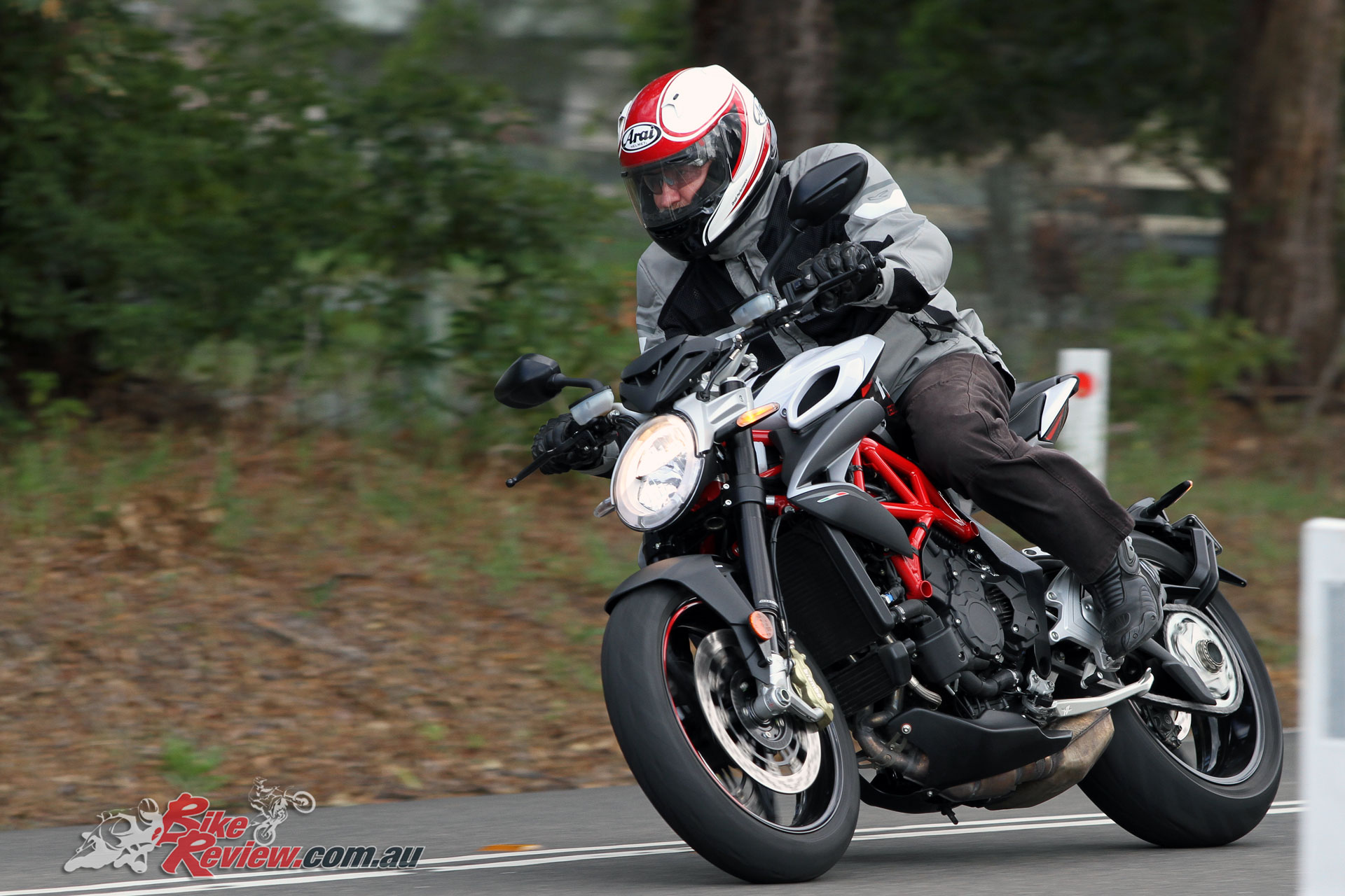 In our testers opinion the Brutale 800 RR holds the crown when it comes to styling in the nakedbike category
