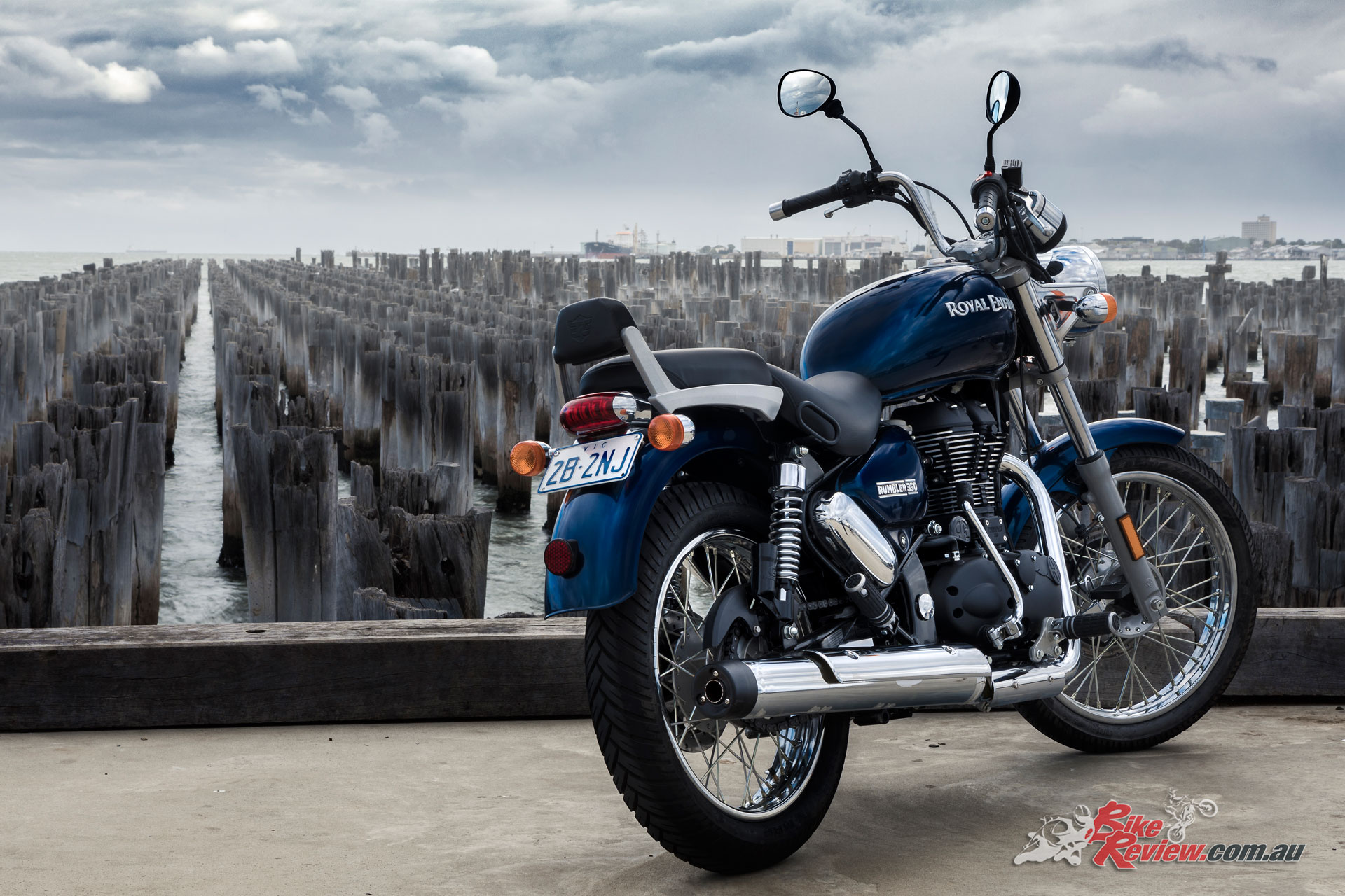The latest Royal Enfield to hit Australian shores, the Rumbler 350 is aimed at the LAMS cruiser market