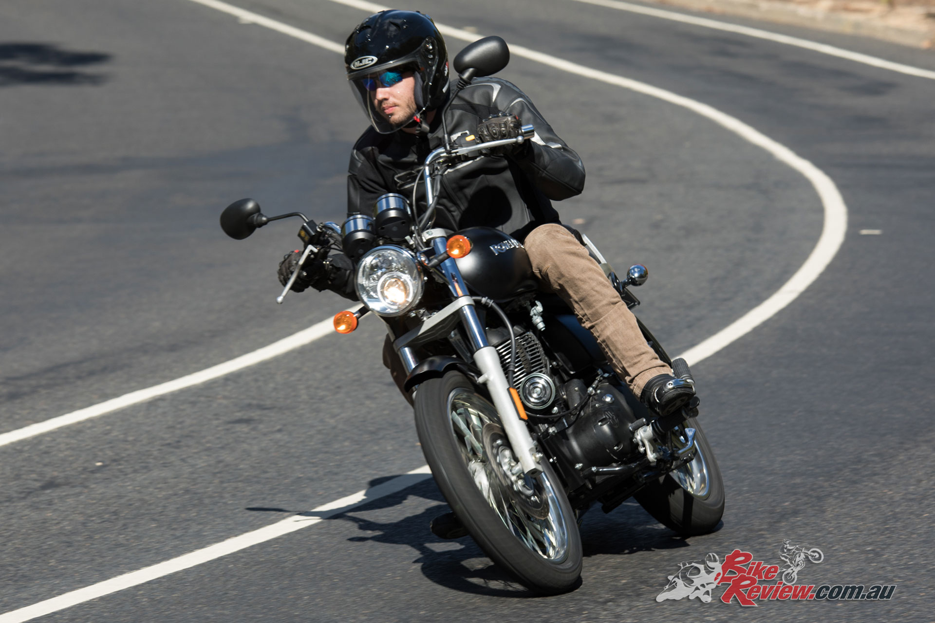Typical of Royal Enfield the Rumbler 350 is an authentic and characterful experience