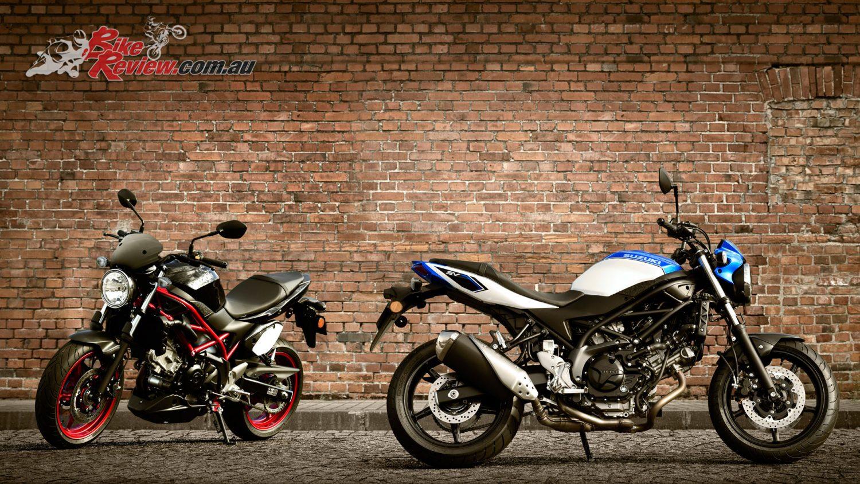 Action Kawasaki And Suzuki