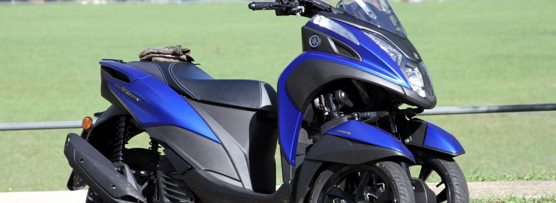 Yamaha's 2018 Tricity 155 ABS
