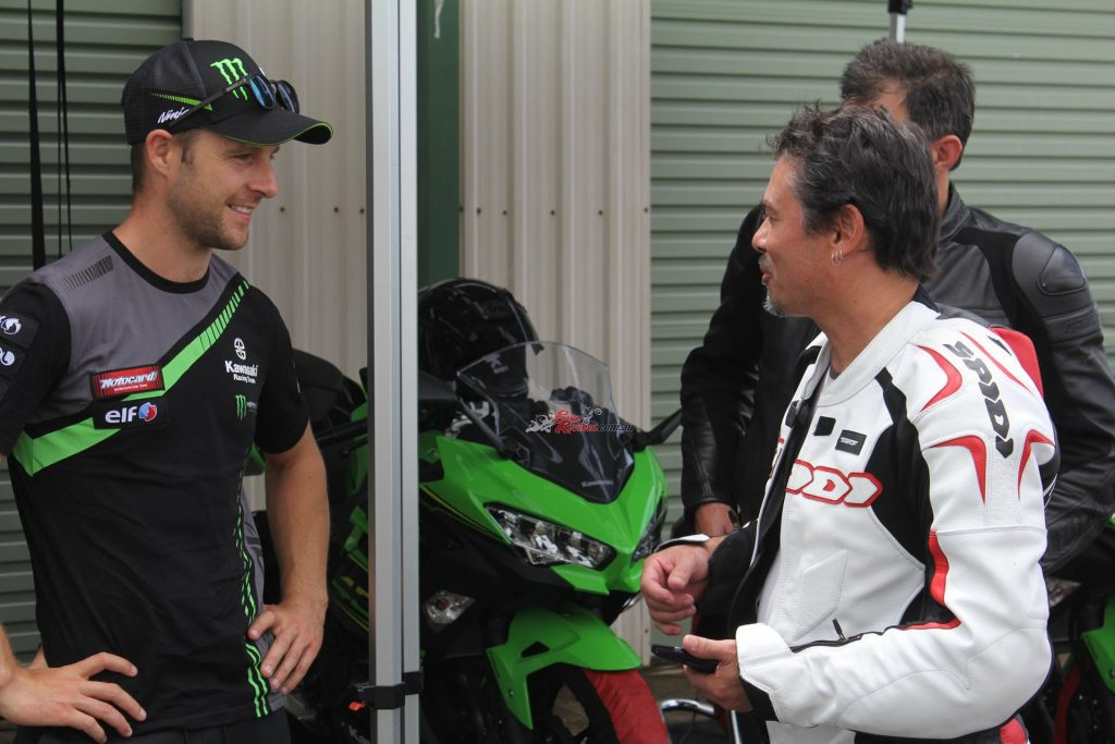 Simon caught up with three times WorldSBK Champion Jonathan Rea MBE and gave him a few drinking tips.