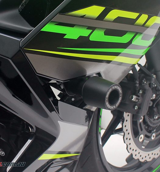 Promoto Oggy Knobbs for the 2018 Kawasaki Ninja 400