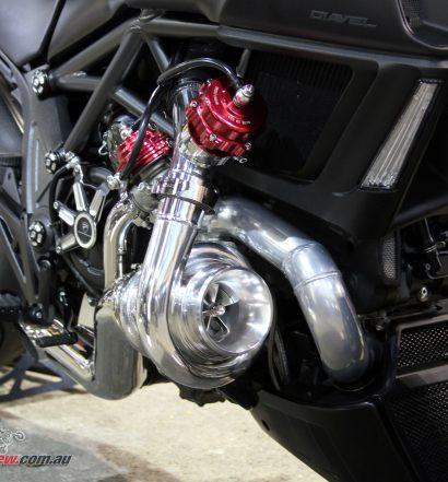 Turbo charged Ducati Diavel