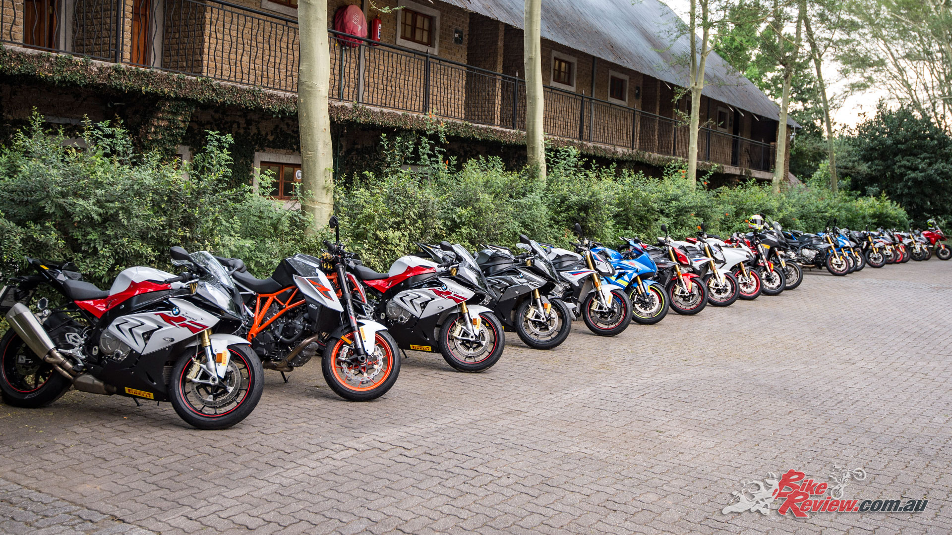 There was a wide variety of test bikes available for the road testing section