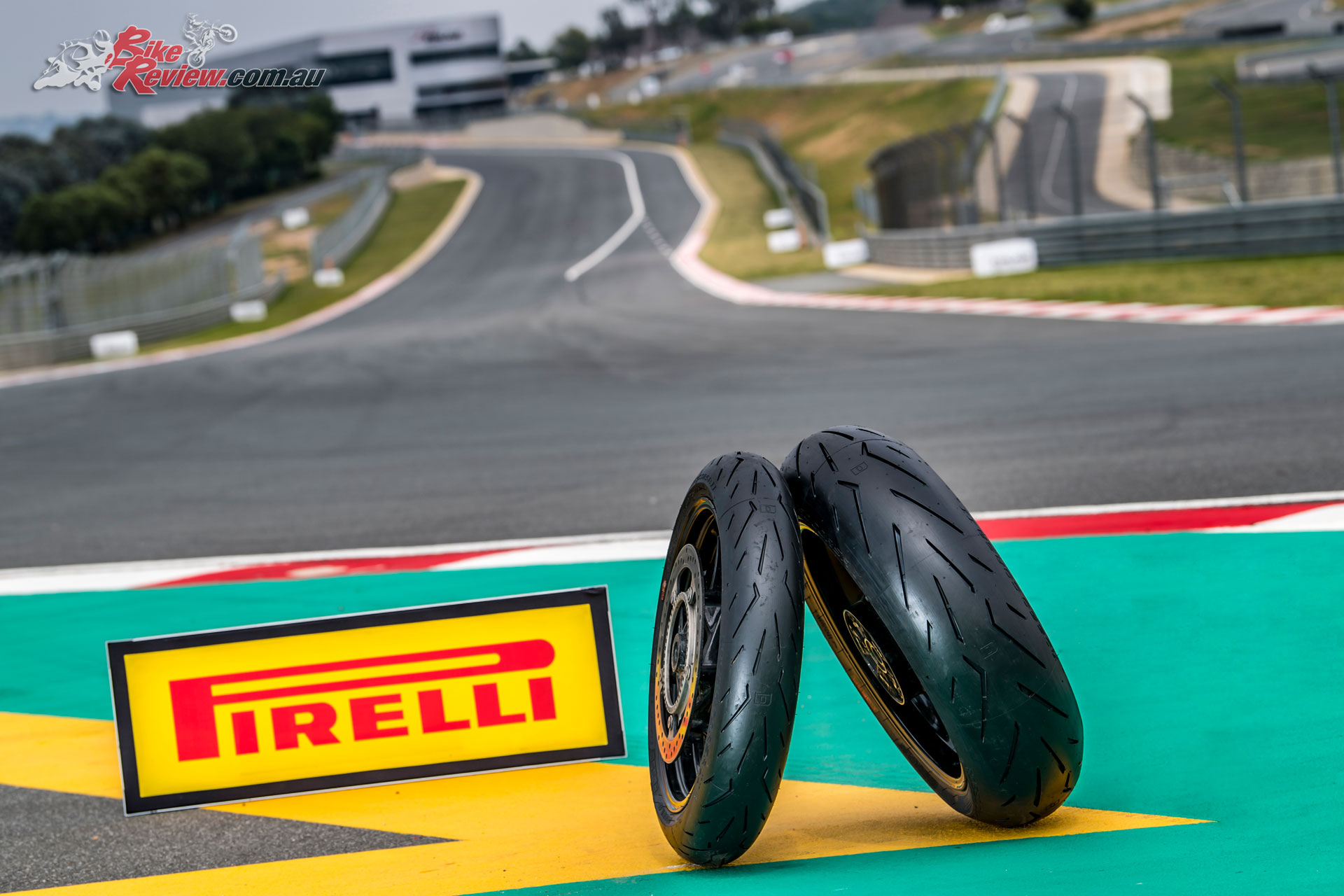Pirelli's new Diablo Rosso Corsa II tyres at Kyalami Circuit in South Africa