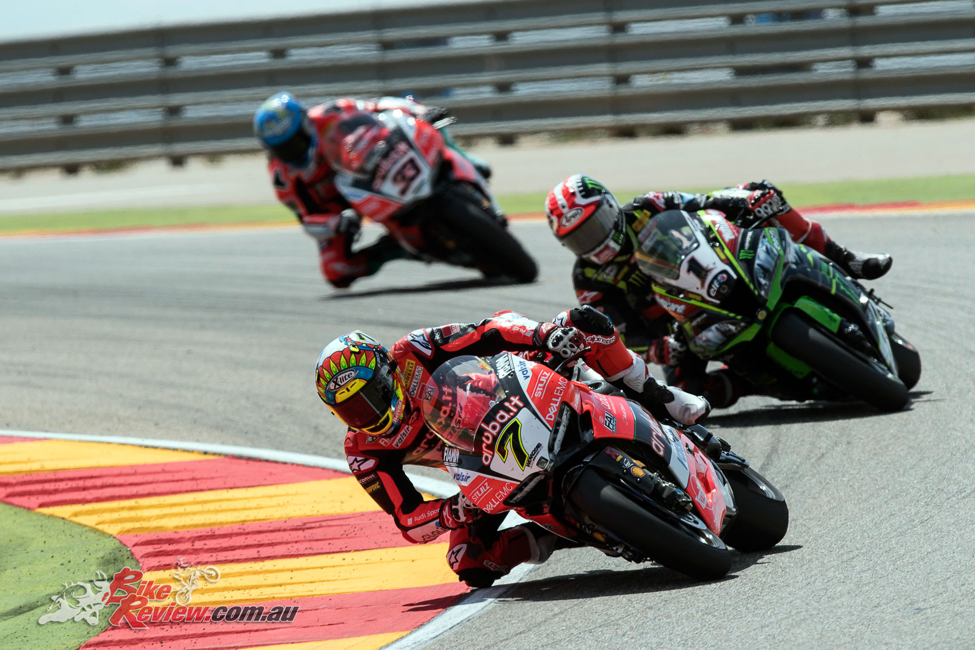 Davies leads Rea and Melandri - Image by Geebee Images