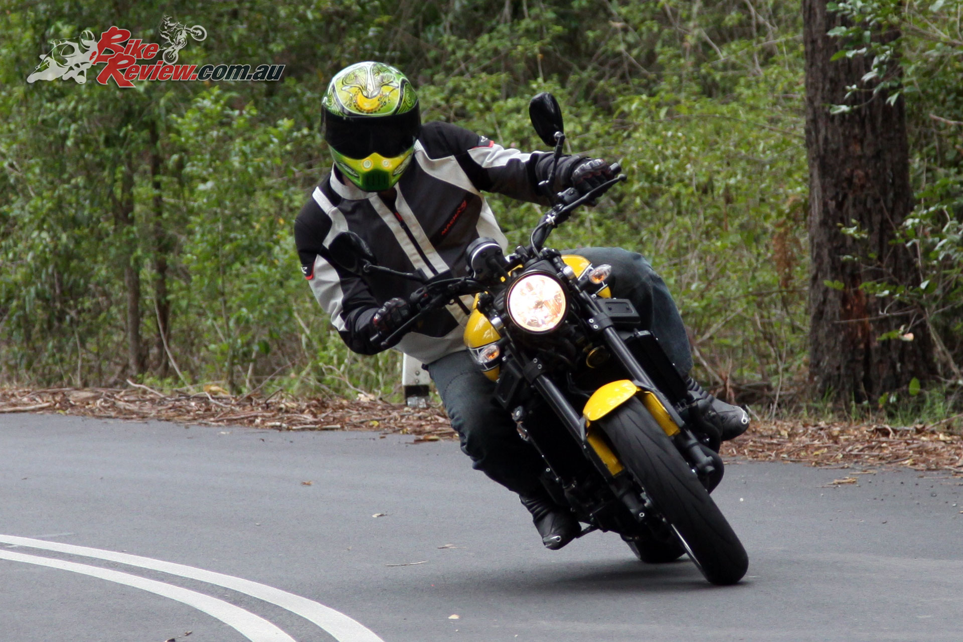 Drive out of corners on the XSR900 is what really puts a smile on your face