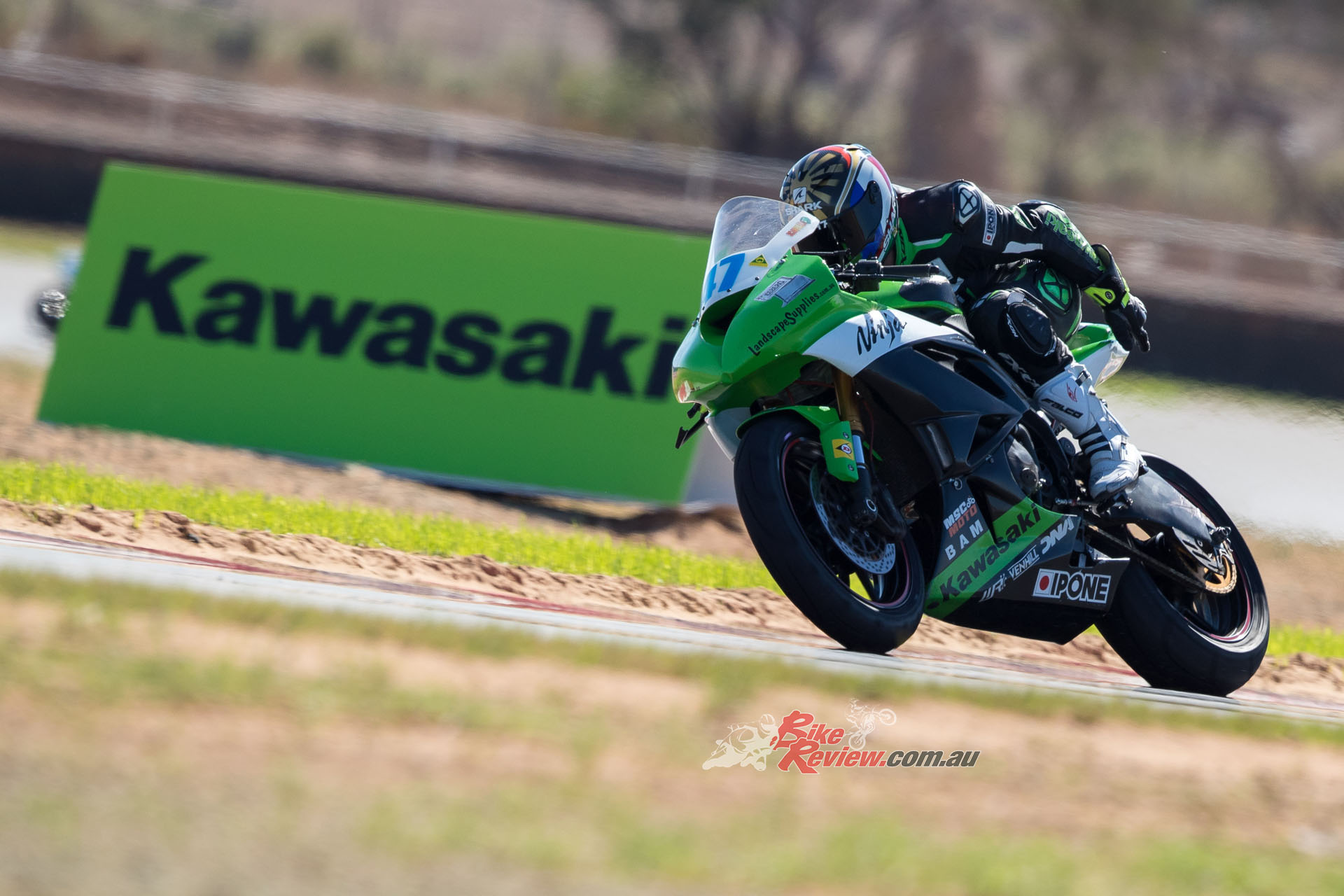 Giuseppe Scarcella on the BC Performance ZX-6R finished fifth overall at The Bend. Pic: Foremost Media