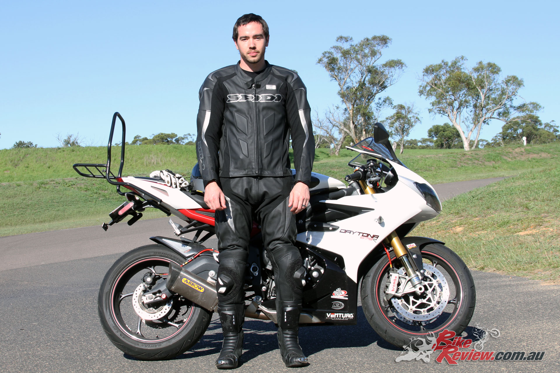 The Spidi Supersport Touring two-piece leathers are a great option if you want the flexibility of using each separately