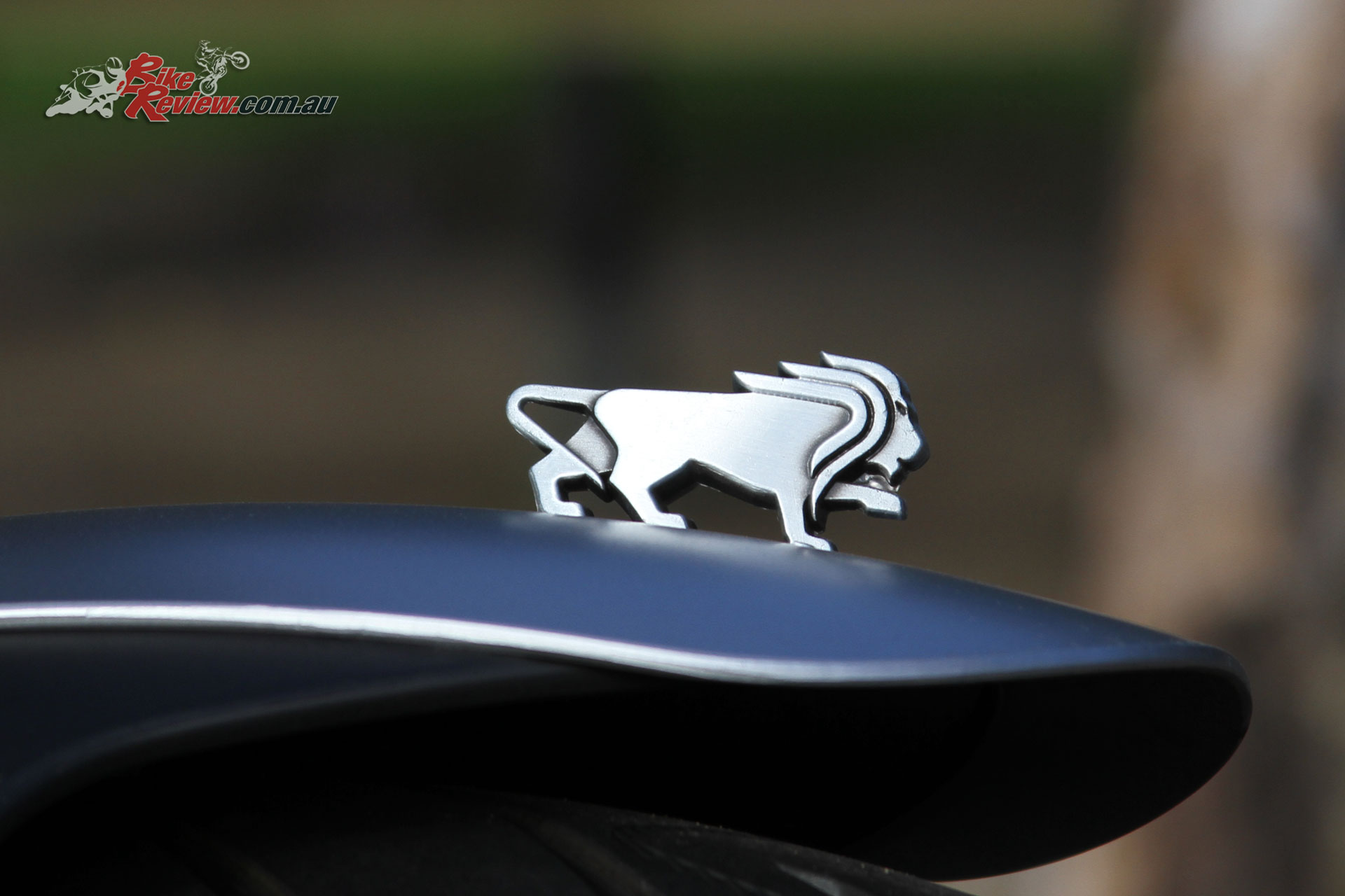 Benelli have put great effort into their badging and it really shows