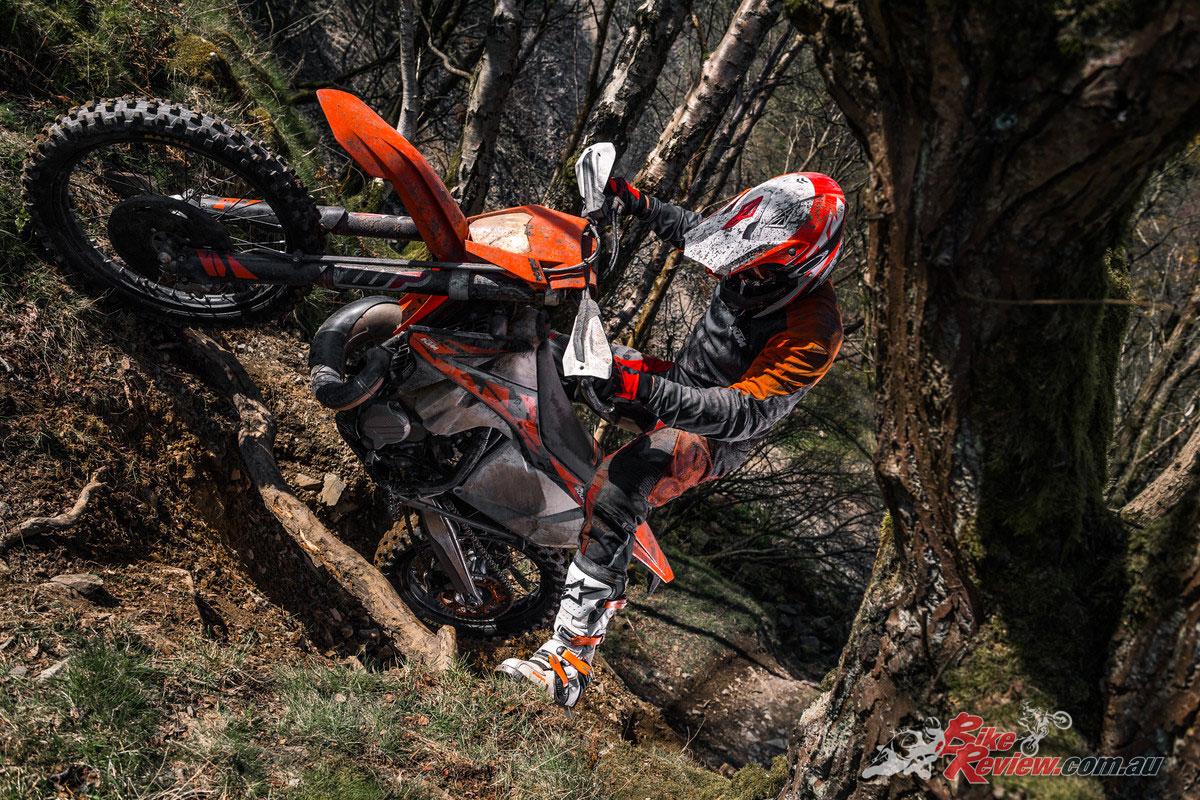KTM's 2018 300 EXC, the last of the carb models!