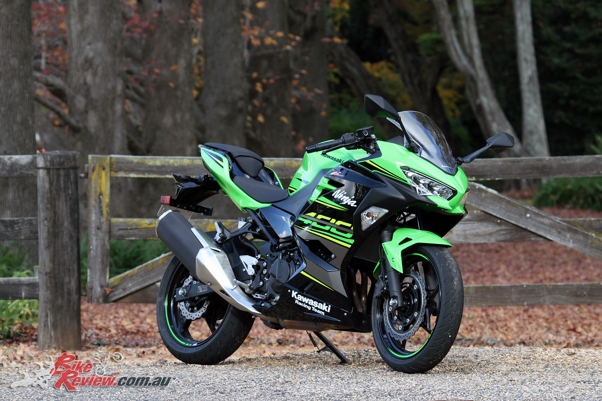 Kawasaki have taken the mid-capacity LAMS competition to the next level with the Ninja 400