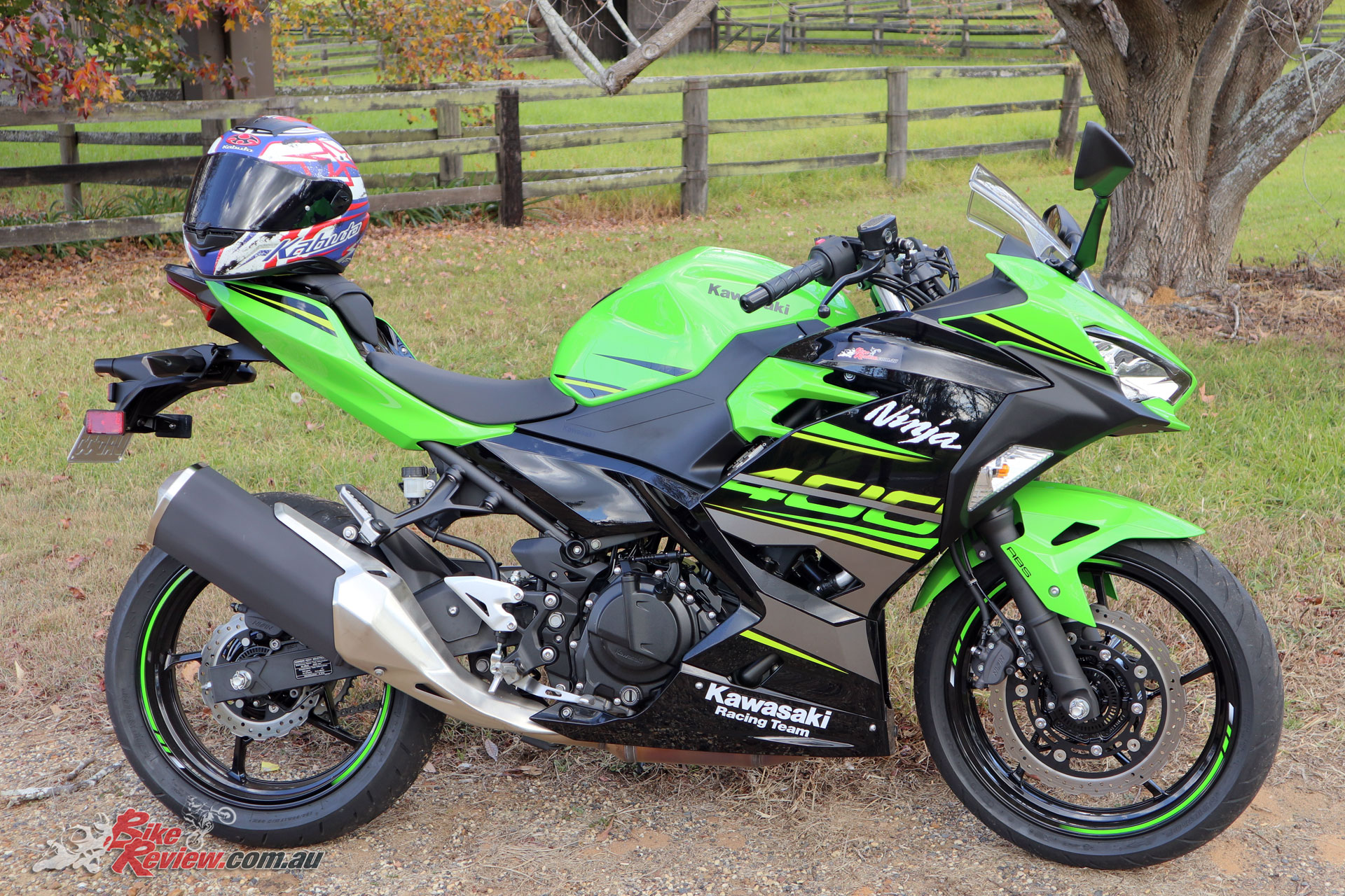 Our Long Term Ninja 400, before mods!